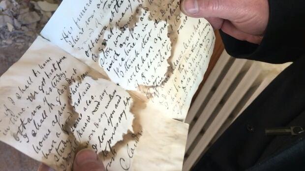 The letter, dated June 9, 1891, describes Sir John A. Macdonald's funeral.