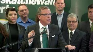 Brad Wall kicks off Saskatchewan Party's campaign