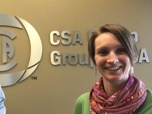 Hilary Davies, Project Manager CSA