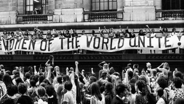 The feminist movement in Canada was explored in the NFB documentary Status Quo? The unfinished business of feminism in Canada.