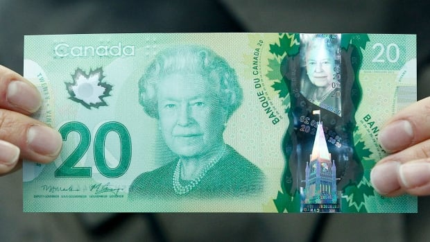 The only woman featured on a Canadian bank note is Queen Elizabeth, on the $20 bill. She is not a Canuck.