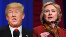 Trump Clinton composite