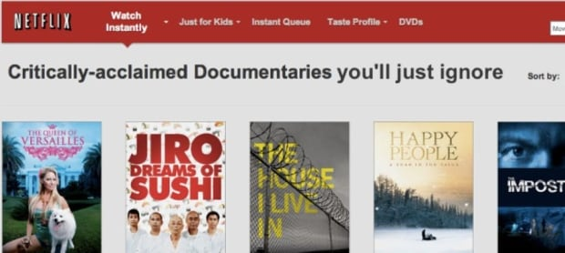 Netflix - Documentaries