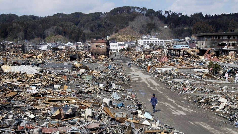 The 2011 Japan tsunami: Images then and now - CBC News - Latest ...
