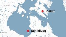 Sanikiluaq map