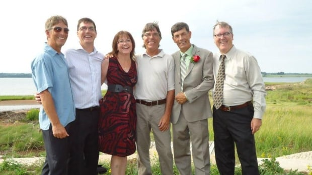 All five of Ann Bolger's brothers stepped up to be tested when she needed a kidney transplant.