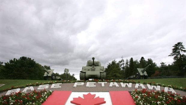 An Armed Forces member based in Petawawa, Ont., has been reassigned to other duties as the Canadian Forces National Investigation Service determines whether charges will be laid.