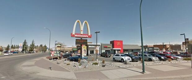 Scenic Drive McDonalds in Lethbridge
