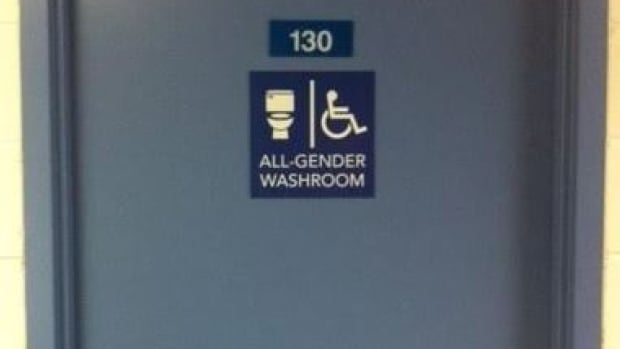 Washrooms in new parts of Laurentian University are open to all.