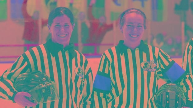 Ottawa referees Allison Barker and Victoria Ozimkowski packed slightly more than their officiating gear to the Arctic Winter Games in Iqaluit, where they served as the only two female refs.