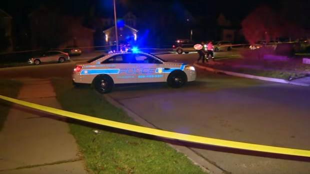A police officer was shot when he responded to an unknown 911 call in Brampton in October 2015.