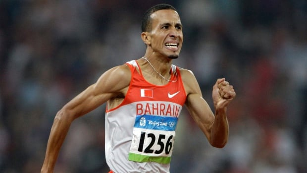 Bahrain's Rashid Ramzi won the gold in the men's 1,500 metres at the 2008 Beijing Olympics, but later tested positive for a banned substance and was stripped of his medal.
