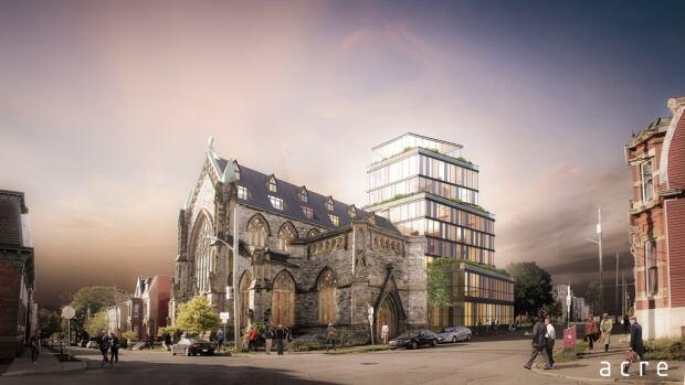 Gothic arches plan