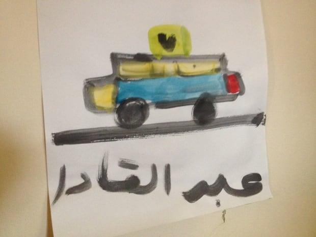 painting syrian refugee group radisson hotel ottawa children