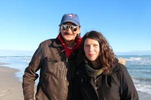 Jerry Natanine and Jessica Wilson