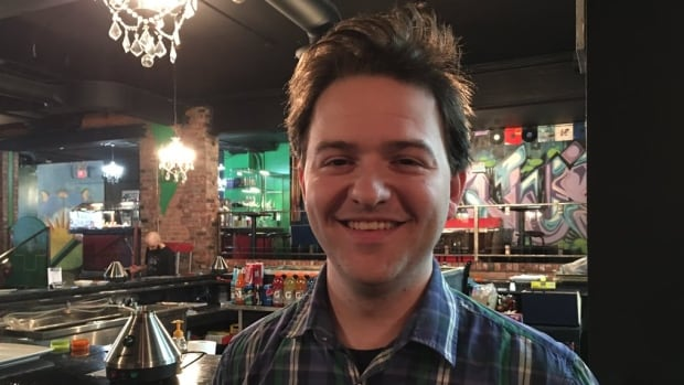 Jon Liedtke, owner of Higher Limits vaping loung, could have to close up shop because of the Ontario government's plan to ban ban e-cigarette and medical marijuana users from smoking in public spaces.