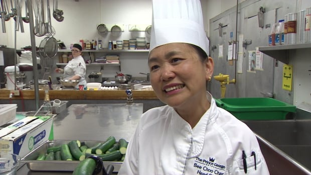 Head chef Bee Choo Char came to Canada 20 years ago.