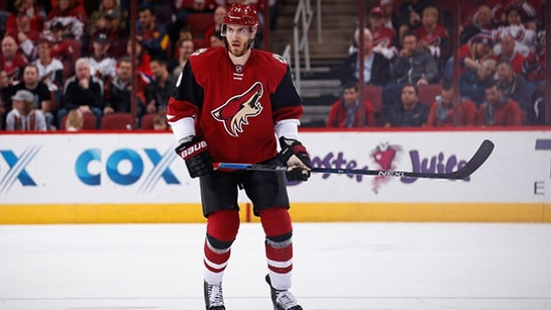 Jarred Tinordi was suspended 20 games this week for performance-enhancing drugs. The Montreal Canadiens traded the defenceman to the Arizona Coyotes on Jan. 15.