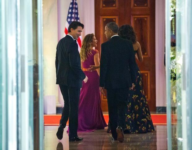 APTOPIX Obama US Canada