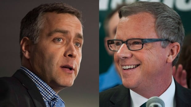 NDP leader Cam Broten and Saskatchewan Party leader Brad Wall are set to debate on March 23, ahead of the April 4 provincial election.