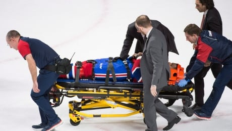 Subban Leaves Game After Scary Collision With Teammate