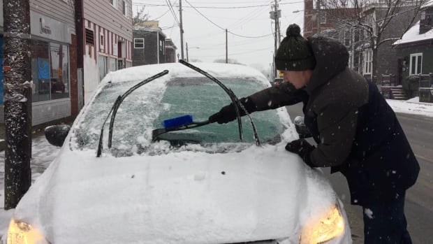 Many Nova Scotians woke up to a layer of ice on Friday.