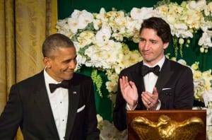 Trudeau State Dinner Obama Washington 20160310