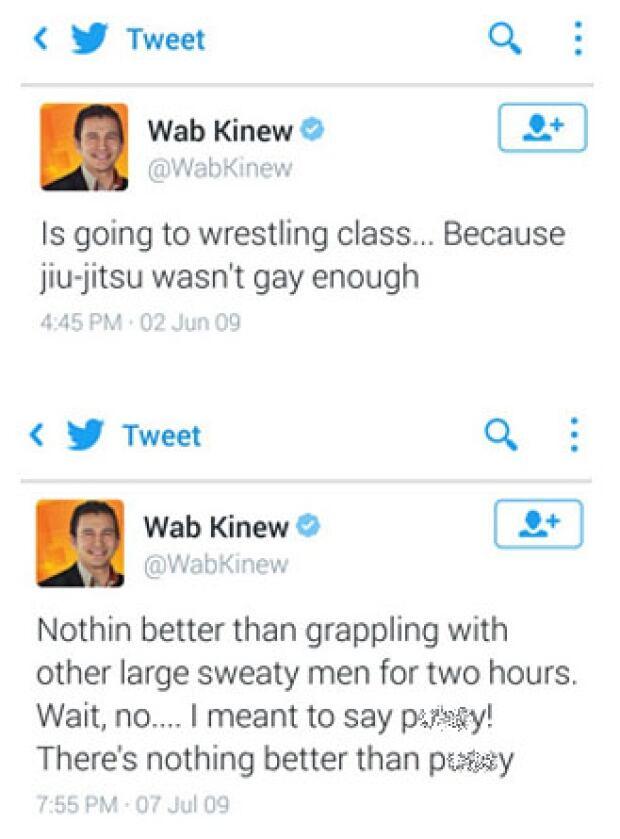 Wab Kinew tweets