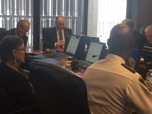 Scott Gillingham, police board chair
