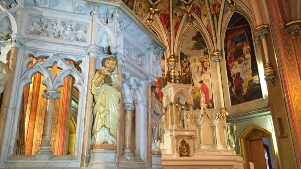 Saint Patrick's Church on Brunswick Street, built in 1883, needs $1.5 million in immediate repairs to stabilize it.