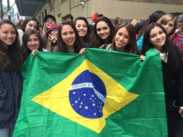 Bieber fans