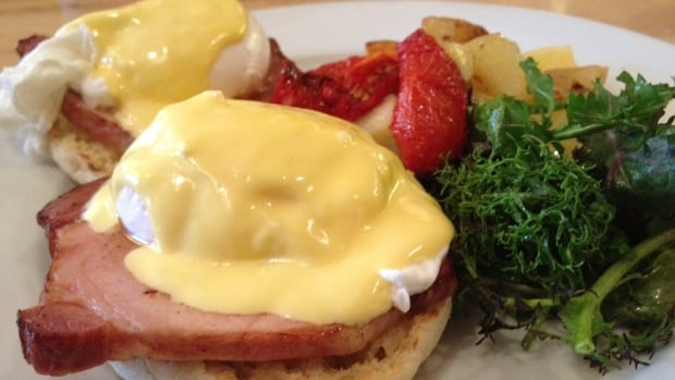 Eggs benedict is a classic brunch dish, and Relish Food & Coffee is one of many spots in Victoria you can get it.