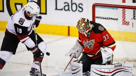 Coyotes Top Flames, Snap Road Winless Streak