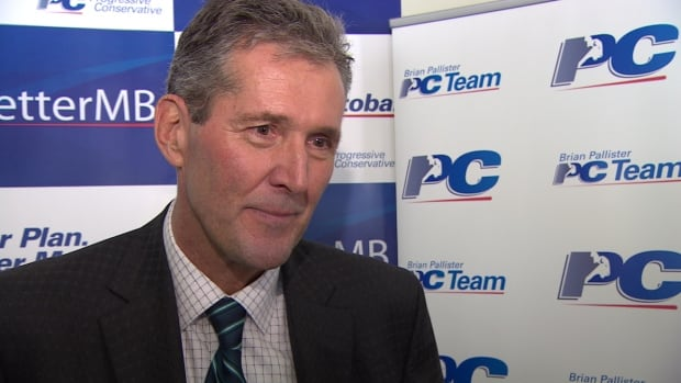Manitoba Progressive Conservative Leader Brian Pallister says the NDP's credibility 'evaporated a long time ago.'