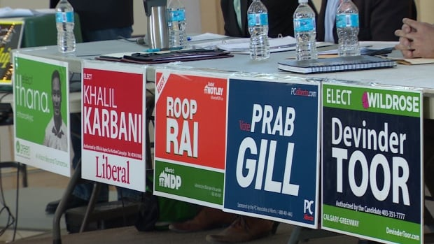 Voters appeared split at a candidate debate for the upcoming Calgary-Greenway byelection.