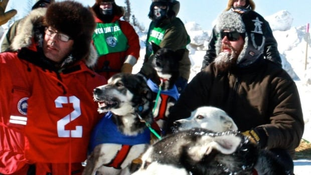 Justin Allen says it was disappointing to pull out of the Hudson Bay Quest dogsled race early, but it was the best decision for his 10-dog team.