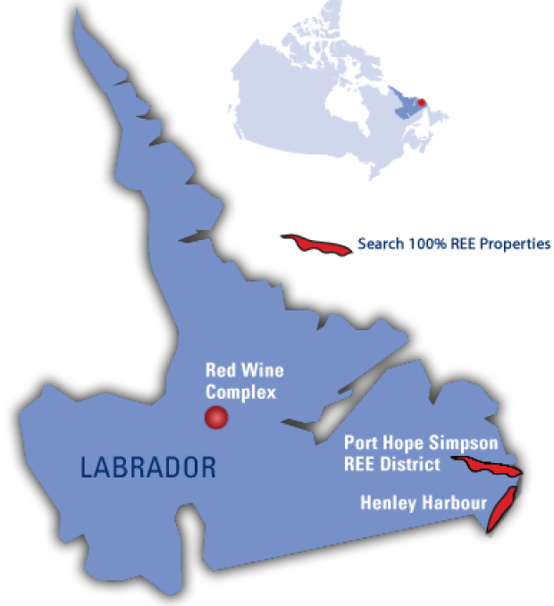 Search Labrador map