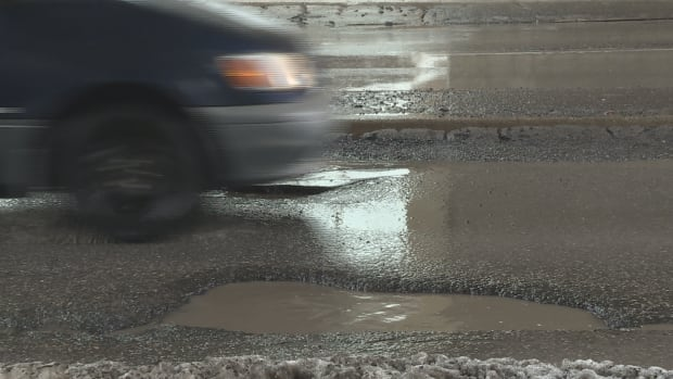 Pothole damage claims are up five times this year over same month last year.