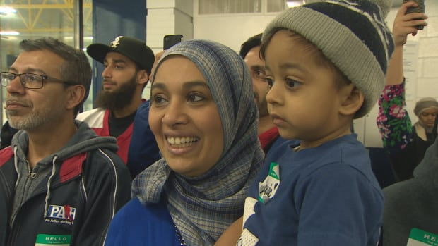 Community members watched as Toronto Mayor John Tory and Coun. Jon Burnside spoke on Monday at Flemgindon Park's Angela James Arena, one of 10 hockey rinks in the running for a $100,000 facelift in Kraft's annual Hockeyville contest.