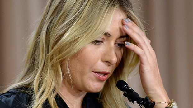 Headache is one of the known side effects of meldonium. Though it's unclear if that's the source of Maria Sharapova's pain in this doping-related press conference.