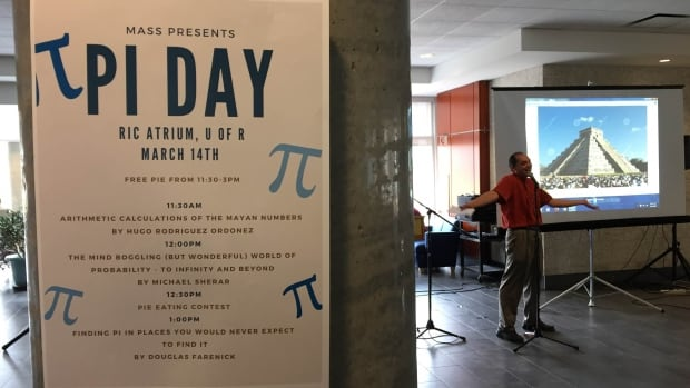 The University of Regina hosting an event to mark Pi Day.