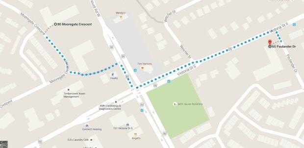 Paulander Drive Mooregate Crescent