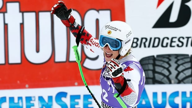 Canadian Larisa Yurkiw, skiing under her own management umbrella, is at the tail end of her most successful season.