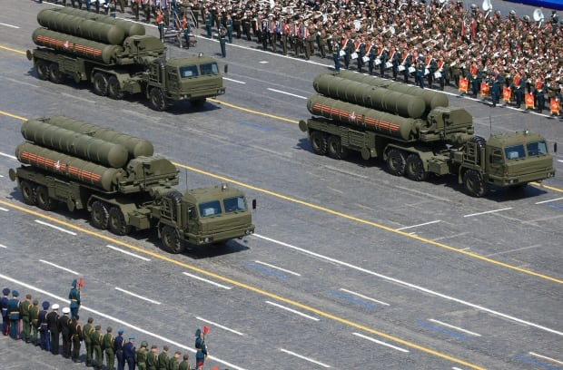 Russia S-400 surface-to-air missile