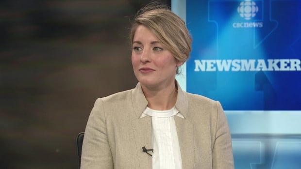 Canadian Heritage Minister Mélanie Joly.