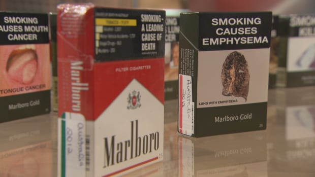The federal government put out a tender for a cost-benefit analysis of adopting plain packaging rules for cigarette packages.