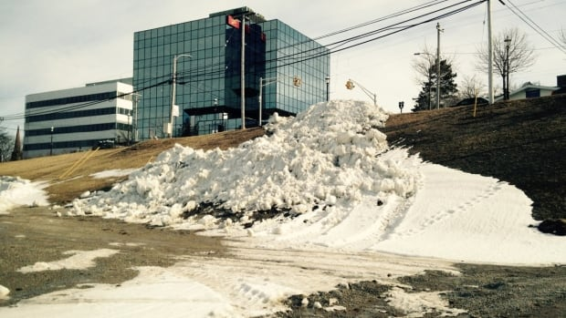 The Cape Breton Regional Municipality has been piling up the snow on the slope since the new year.