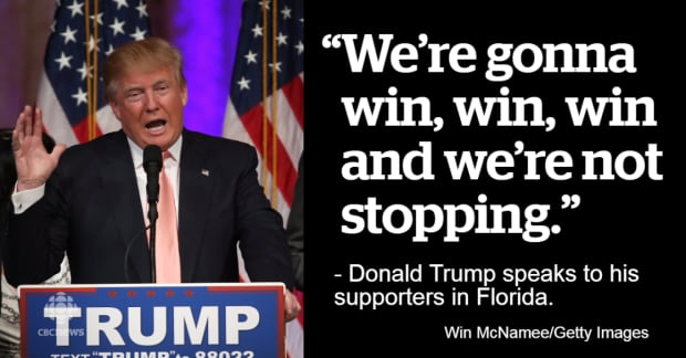 March Super Tuesday Quotes 1on Donald Trump Military Quote