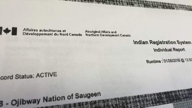 Concerned citizens from the Ojibway Nation of Saugeen say they went to Ottawa to get a copy of their band list.