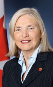 Senator Rose-Marie Losier-Cool, New Brunswick